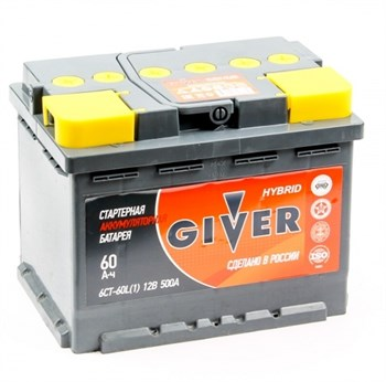 GIVER  6СТ-60.0 VL3 - фото 3868431