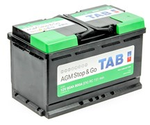TAB AGM Stop&Go 6СТ-80.0