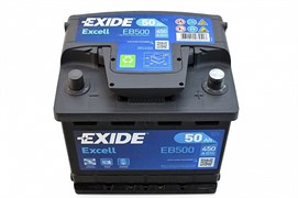 EXIDE Excell 50 A/h  EB500